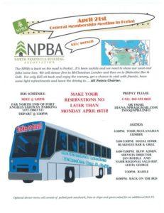 North Olympic Peninsula Building Association: Forks or Bust @ Blakeslees Bar & Grill   Forks   Washington   United States