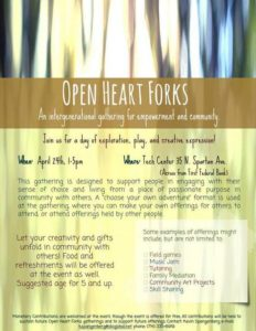 Open Heart Forks: An Inter-generational Gathering for Empowerment and Community @ Tech Center  | Forks | Washington | United States
