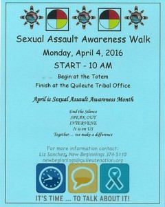 Sexual Assault Awareness Walk
