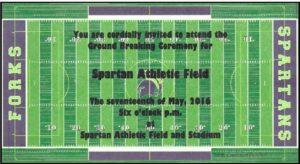 Spartan Field Ground Breaking Ceremony