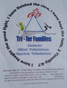 TRI- For Families: Fundraiser for The Caring Place @ Forks Athletic and Aquatic Club | Forks | Washington | United States