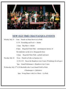 Chautauqua Flyer