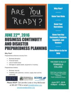Are You Ready? Business Continuity And Disaster Preparedness Planning