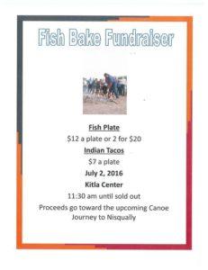 Fish Bake Fundraiser