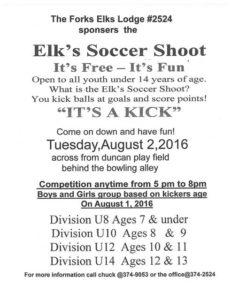 Forks Elks Soccer Shoot2