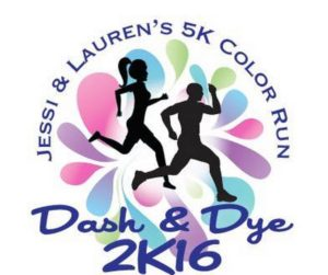 Jessica & Lauren's Dash & Dye 5K Color Run @ Forks High School: Circle Parking Lot