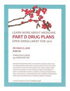 Learn More About Medicare (Part D) Drug Plans @ Forks Elks Lodge | Vacaville | California | United States