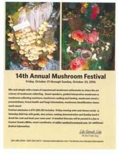 14th Annual Mushroom Festival