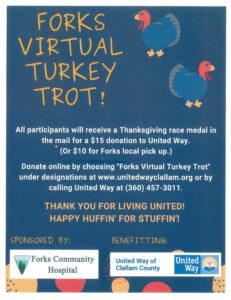 Virtual 5th Annual Turkey Trot