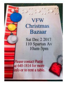 VFW Holiday Bazaar