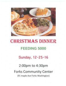 Feeding 5000 Christmas Dinner