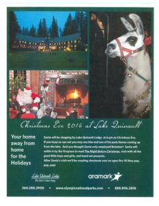 Christmas Eve with Santa @ Lake Quinault Lodge | Quinault | Washington | United States