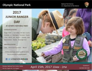Junior Ranger Day @ Olympic National Park Visitor Center | Port Angeles | Washington | United States