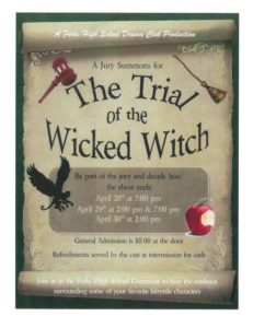 The Trial of the Wicked Witch