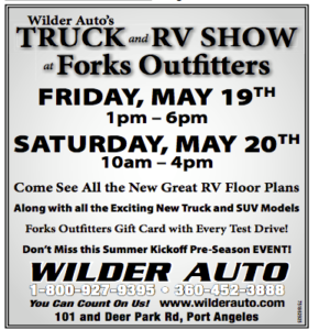 Wilder Auto's Truck and RV Show @ Forks Outfitters | Forks | Washington | United States