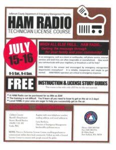 HAM Radio Technician License Course @ Clallam County Sherriff Station: Beaver Station | Forks | Washington | United States