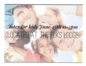 Totes for Kids @ Forks Elks Lodge 2524 | Forks | Washington | United States