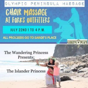 Get a Message and Meet a Princess @ Forks Outfitters Parking lot | Forks | Washington | United States