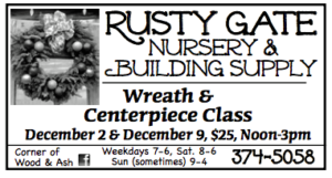 Wreath and Centerpiece Class @ Rusty Gate Nursery & Building Supply | Forks | Washington | United States