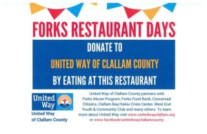 Forks Restaurant Days @ The Parlor | Forks | Washington | United States