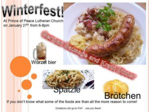 Winterfest @ Prince of Peace Lutheran Church | Forks | Washington | United States