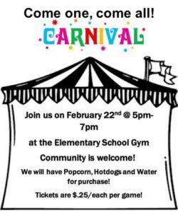 Carnival @ Forks Elementary School Gym | Forks | Washington | United States