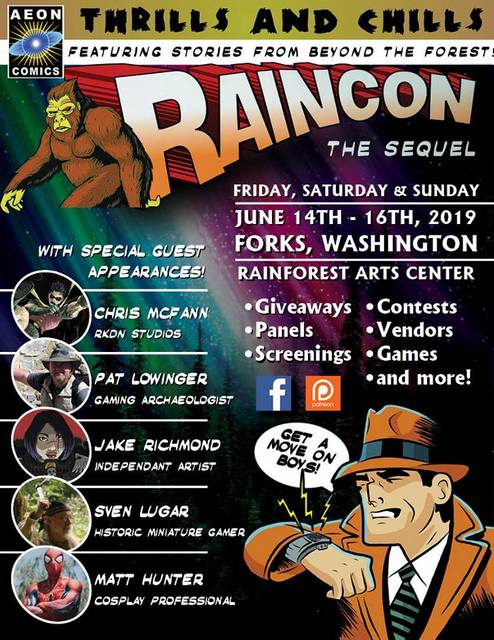 Raincon @ Rainforest Arts Center | Forks | Washington | United States