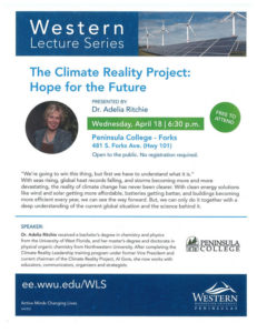 Western Lecture Series @ Peninsula College at Forks   Forks   Washington   United States