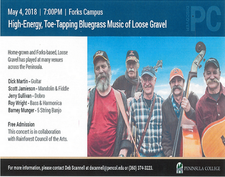 Blue Grass Featuring Loose Gravel | Forks Washington Chamber of Commerce