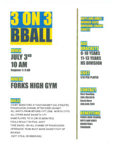 3 on 3 Basketball Tournament