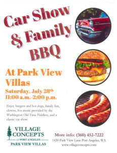 Car Show and Family BBQ @ Park View Villas | Port Angeles | Washington | United States
