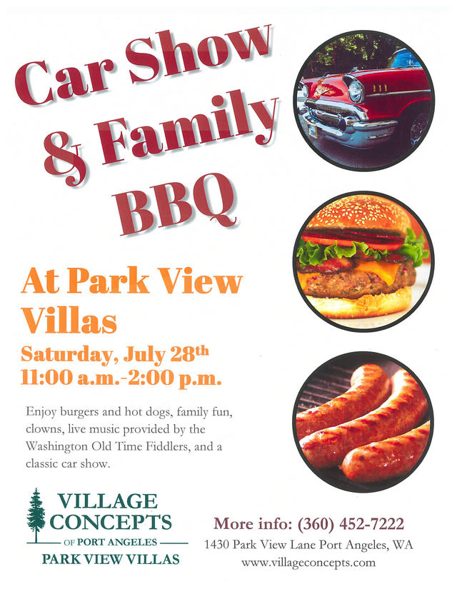 Car Show And Family BBQ Forks Washington Chamber Of Commerce - Port angeles car show