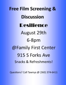 Resilience @ Family First Center | Forks | Washington | United States