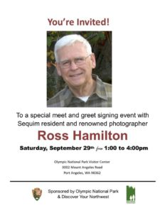 Special Event with Local Photographer Ross Hamilton! @ Olympic National Visitors Center | Port Angeles | Washington | United States