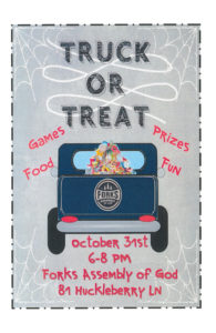TRUCK OR TREAT @ Forks Assembly of God | Forks | Washington | United States