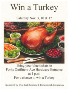 GOT TURKEY? @ Forks Outfitters-Ace Hardware  | Forks | Washington | United States