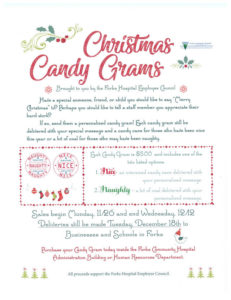 Christmas Candy Grams @ Forks Community Hospital | Forks | Washington | United States