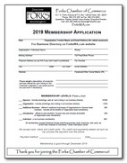 2019 Membership Application