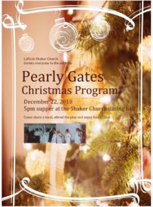 Pearly Gates Christmas Program @ Lapush Shaker Church | La Push | Washington | United States
