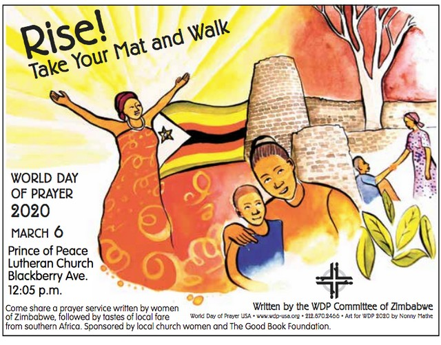 World Day of Prayer Celebration @ Prince of Peace Lutheran Church | Forks | Washington | United States