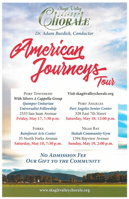 American Journeys Tour @ Rainforest Arts Center | Forks | Washington | United States