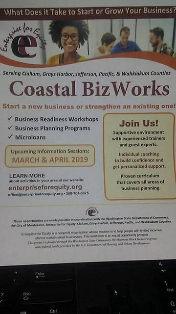 Coastal Biz Works @ The Parlor | Forks | Washington | United States