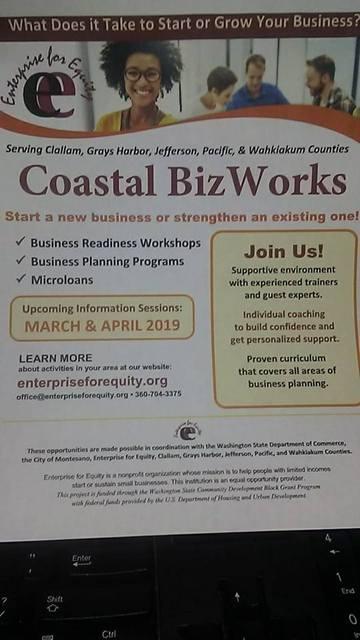 Coastal Biz Works @ The Parlor | Forks | Washington | United States