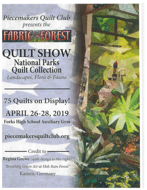 Quilt Show National Parks Quilt Collection @ Forks High School Auxiliary Gym | Sarnia | Ontario | Canada