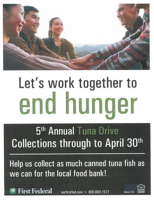 5th Annual Tuna Drive @ First Federal Bank | Forks | Washington | United States