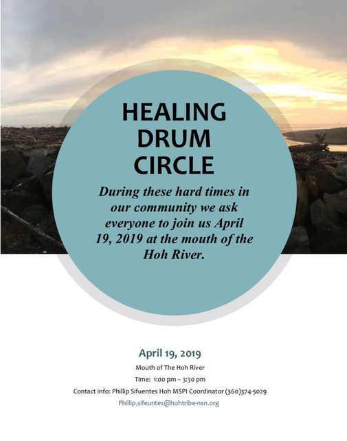 Healing Drum Circle @ Mouth of the Hoh River | Washington | United States