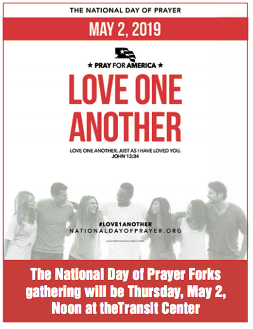 National Day of Prayer @ Forks Transit Center | Washington | United States