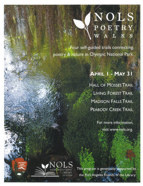NOLS Poetry Walks @ Olympic National Park Trails