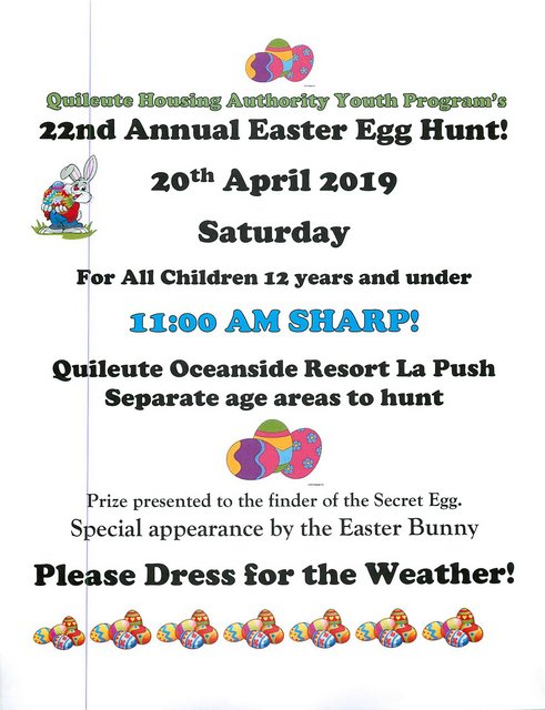 22nd Annual Easter Egg Hunt @ Quileute Oceanside Resort | La Push | Washington | United States
