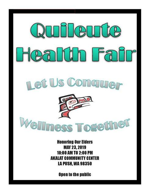 Quileute Health Fair @ Akalat Community Center | La Push | Washington | United States